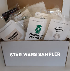 Star Wars Inpsired Wax Melt Sampler Set - 10 Wax Melt Samples