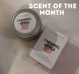 November 2020 Scent of the Month - Caramel Apple