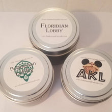 Load image into Gallery viewer, Set of Two WDW Inspired Candles, Perfect gift for WDW Fans!