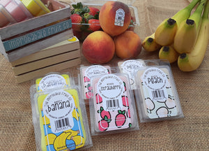 Improbable Fruit co  Wax Melts - choose from three awesome scents