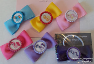 MLP Hair Bows - -Great for Party Favors!