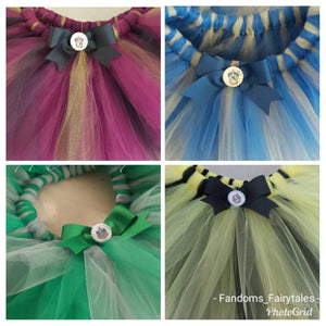 Wizarding Tutus- Hogwarts House tutus- infant tutu child tutu adult tutu running tutu