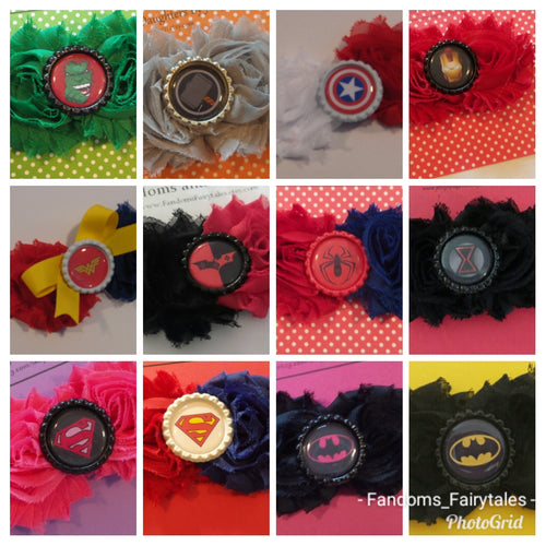 Superhero Headbands - Choose your hero!