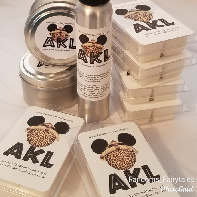 AKL Lobby Scent candles, wax melts or room spray
