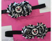 Load image into Gallery viewer, Pirates of the Carribean Inspired Mickey Shabby Chic Headband