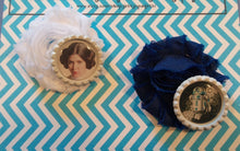 Load image into Gallery viewer, Star Wars inspired Flower Hair Clips