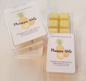Pineapple Whip Wax Melts and Candles