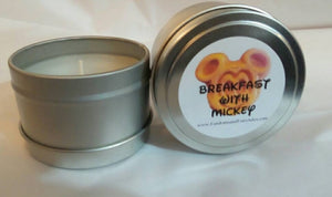 Breakfast with Mickey candles, wax melts or room spray