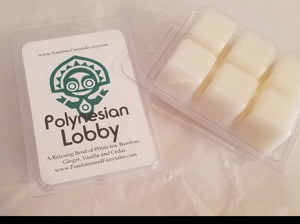 Polynesian Lobby Wax Melts and Candles