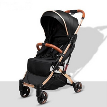 Load image into Gallery viewer, Baby Stroller Lightweight Portable Travel System - Camanda Baby - Black