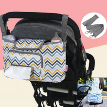 Load image into Gallery viewer, Baby Stroller Organizer & Diaper Bag - Camanda Baby - stroller bag with shoulder strap