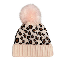 Load image into Gallery viewer, Leopard & Buffalo Print Beanies