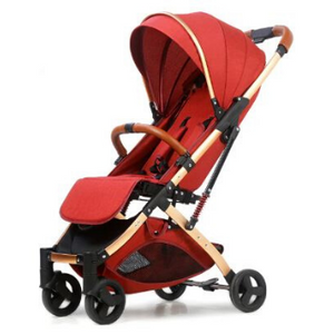 Baby Stroller Lightweight Portable Travel System - Camanda Baby - Red