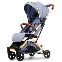 Load image into Gallery viewer, Baby Stroller Lightweight Portable Travel System - Camanda Baby - Gray Blue