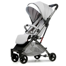 Load image into Gallery viewer, Baby Stroller Lightweight Portable Travel System - Camanda Baby - Light Gray 3