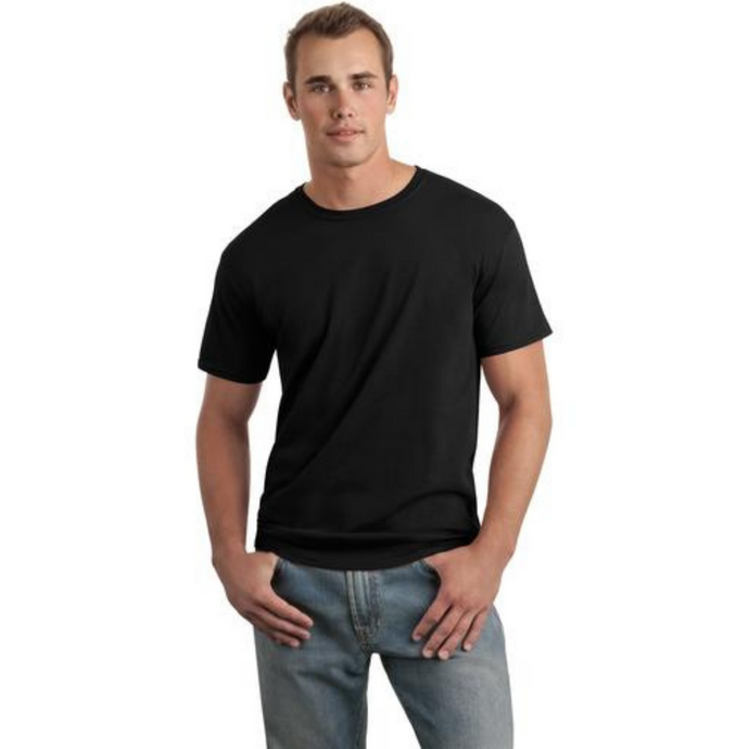 Men's Crew Cut T-Shirt - Camanda Creations - Small / Black