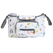 Load image into Gallery viewer, Baby Stroller Organizer & Diaper Bag - Camanda Baby - Owl