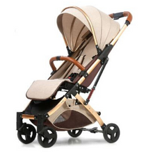 Load image into Gallery viewer, Baby Stroller Lightweight Portable Travel System - Camanda Baby - Khaki