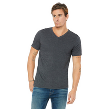 Load image into Gallery viewer, Bella & Canvas Heather V-Neck T-Shirts - Camanda Baby