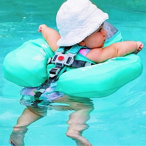 Safety Swimming Pool Float Solid Non Inflatable - Camanda Baby - back view of baby in pool float