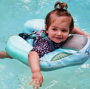Safety Swimming Pool Float Solid Non Inflatable - Camanda Baby - baby girl in mambo pool float