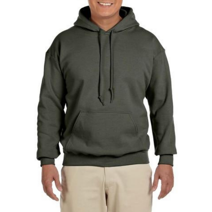 Army Green Gildan Heavy Blend Unisex Custom Design Made To Order Hoodies - Camanda Baby