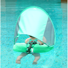 Load image into Gallery viewer, Safety Swimming Pool Float Solid Non Inflatable With Canopy - [variant_title] - Camanda Baby