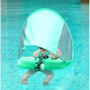 Safety Swimming Pool Float Solid Non Inflatable With Canopy - [variant_title] - Camanda Baby