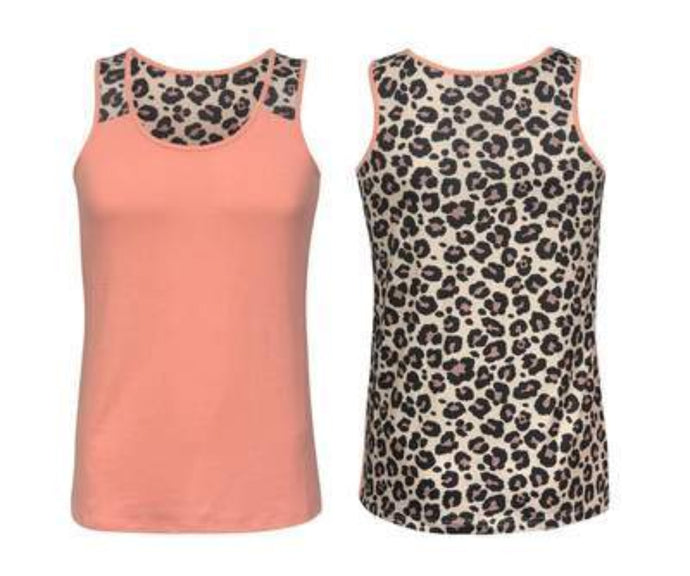 Leopard Print Tank Custom Made To Order Shirts - Camanda Baby