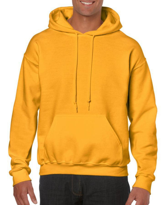 Yellow Gildan Heavy Blend Unisex Custom Design Made To Order Hoodies - Camanda Baby
