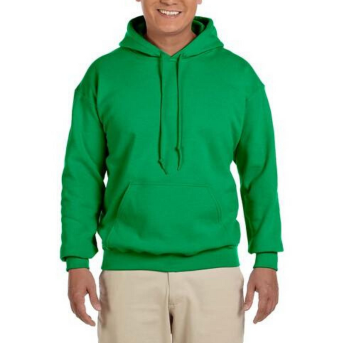Green Gildan Heavy Blend Unisex Custom Design Made To Order Hoodies - Camanda Baby
