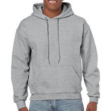 Load image into Gallery viewer, Light Grey Gildan Heavy Blend Unisex Hoodies - Camanda Creations - Small