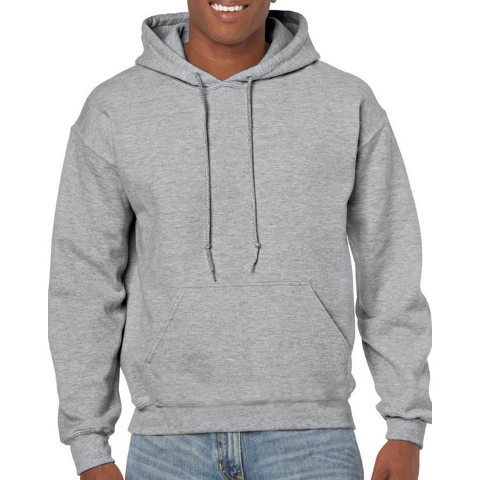 Light Grey Gildan Heavy Blend Unisex Custom Design Made To Order Hoodies - Camanda Baby