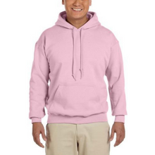 Load image into Gallery viewer, Light Pink Gildan Heavy Blend Unisex Hoodies - Camanda Creations - Small