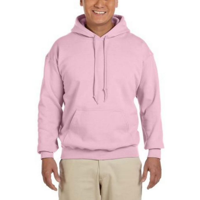 Light Pink Gildan Heavy Blend Unisex Custom Design Made To Order Hoodies - Camanda Baby