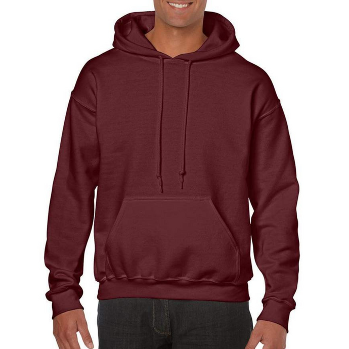 Maroon Gildan Heavy Blend Unisex Custom Design Made To Order Hoodies - Camanda Baby