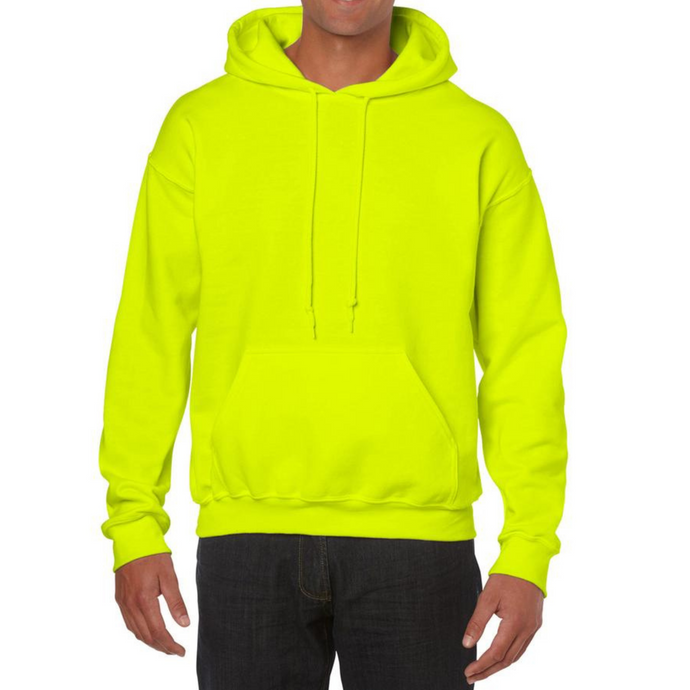 Neon Yellow Gildan Heavy Blend Unisex Custom Design Made To Order Hoodies - Camanda Baby