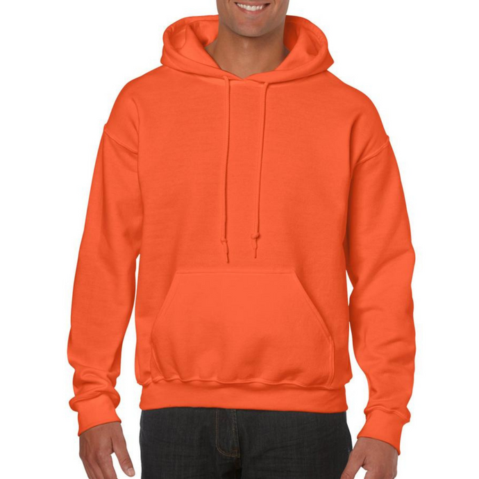 Orange Gildan Heavy Blend Unisex Custom Design Made To Order Hoodies - Camanda Baby