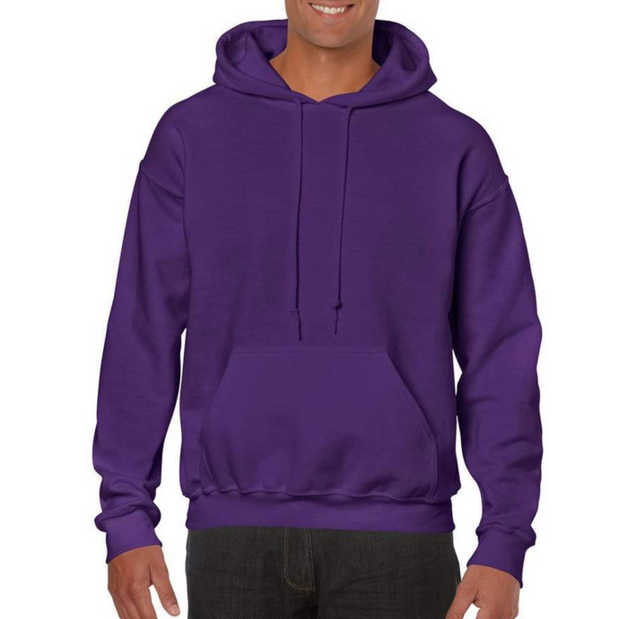 Purple Gildan Heavy Blend Unisex Custom Design Made To Order Hoodies - Camanda Baby