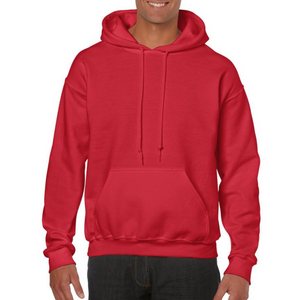 Red Gildan Heavy Blend Unisex Custom Design Made To Order Hoodies - Camanda Baby