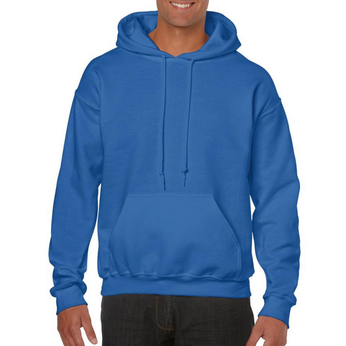 Royal Blue Gildan Heavy Blend Unisex Custom Design Made To Order Hoodies - Camanda Baby