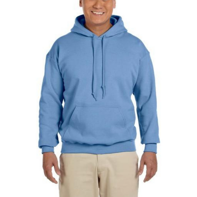 Sky Blue Gildan Heavy Blend Unisex Custom Design Made To Order Hoodies - Camanda Baby