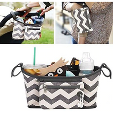 Load image into Gallery viewer, Baby Accessories Stroller Bag - Camanda Baby - chevron baby stroller bag uses