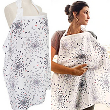 Load image into Gallery viewer, Breastfeeding/Nursing Cover 100% Breathable Cotton - A - Camanda Baby