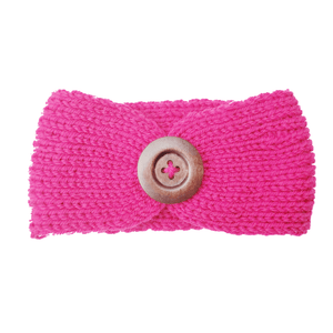 Soft Knitted Baby Headbands - Fuchsia - Camanda Baby