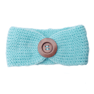 Soft Knitted Baby Headbands - Mint - Camanda Baby