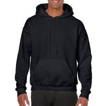 Load image into Gallery viewer, Black Gildan Heavy Blend Unisex Custom Design Made To Order Hoodies