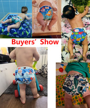 Load image into Gallery viewer, Reusable Adjustable Baby Swim Diapers - Camanda Baby - [variant_title]