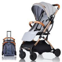 Load image into Gallery viewer, Baby Stroller Lightweight Portable Travel System - Camanda Baby - travel stroller system with carry on pulling handle