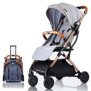 Baby Stroller Lightweight Portable Travel System - Camanda Baby - travel stroller system with carry on pulling handle